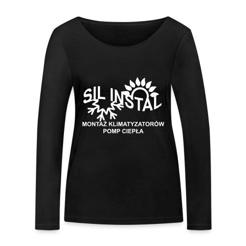 sil instal - Ekologiczna koszulka damska z długim rękawem Stanley & Stella