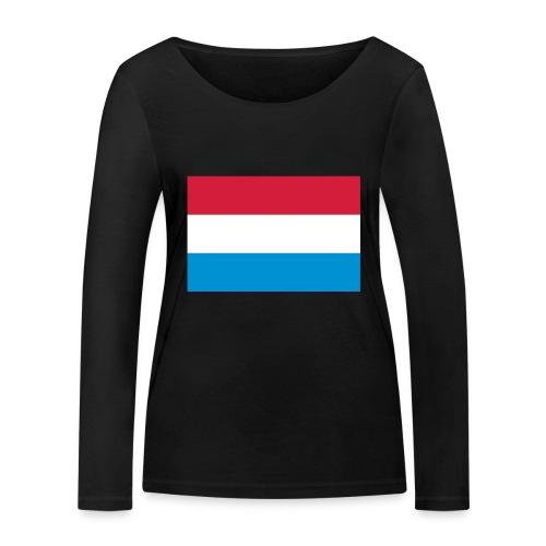 The Netherlands - Vrouwen bio shirt met lange mouwen van Stanley & Stella