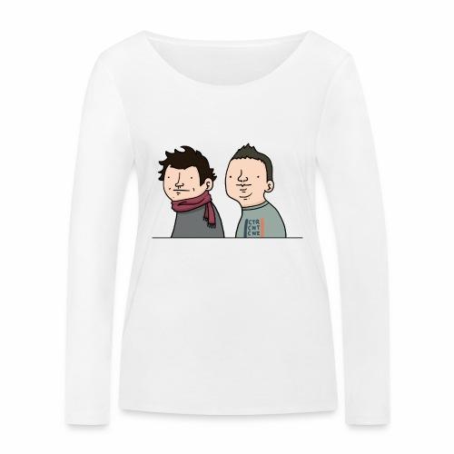 Laink et Terracid old - T-shirt manches longues bio Stanley & Stella Femme