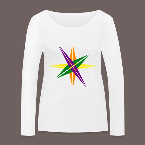 GBIGBO zjebeezjeboo - Love - Shining Star Color - T-shirt manches longues bio Stanley & Stella Femme