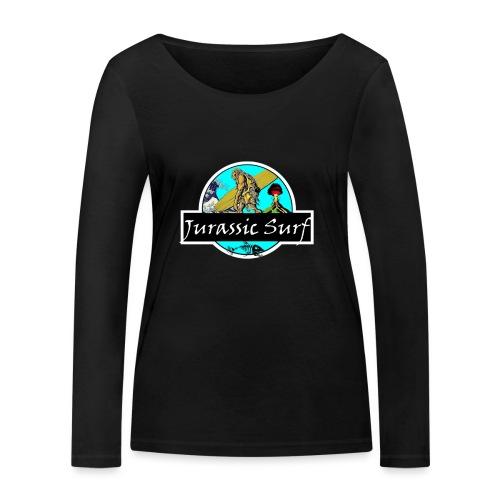 JURASSIC SURF - Maglietta a manica lunga ecologica da donna di Stanley & Stella