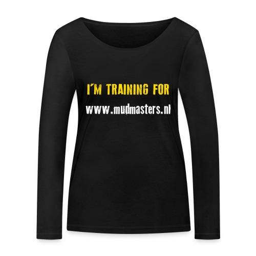 tshirt back - Vrouwen bio shirt met lange mouwen van Stanley & Stella
