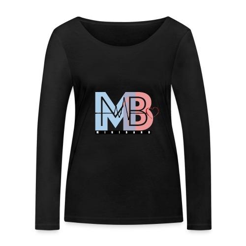 MINIBAND - Ekologisk långärmad T-shirt dam från Stanley & Stella