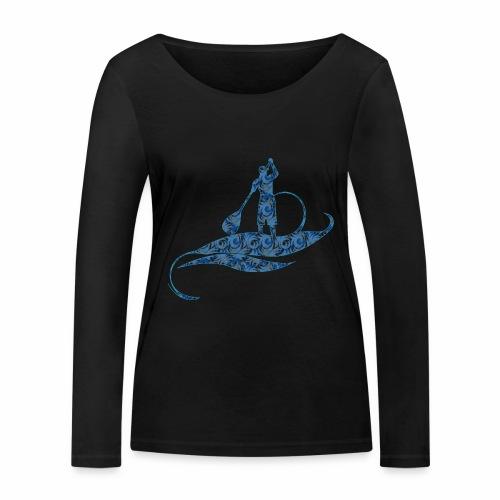 Blue Ocean - T-shirt manches longues bio Stanley & Stella Femme