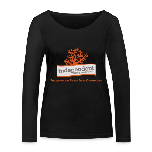 Independent Beers from Conamara - Women's Organic Longsleeve Shirt by Stanley & Stella
