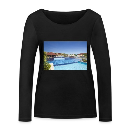 splendide piscine - T-shirt manches longues bio Stanley & Stella Femme