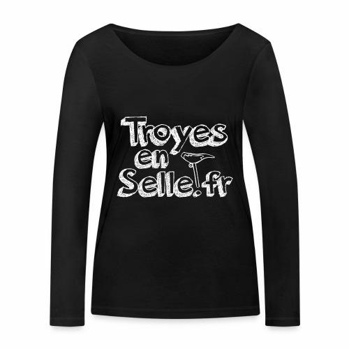 logo Troyes en Selle - T-shirt manches longues bio Stanley & Stella Femme