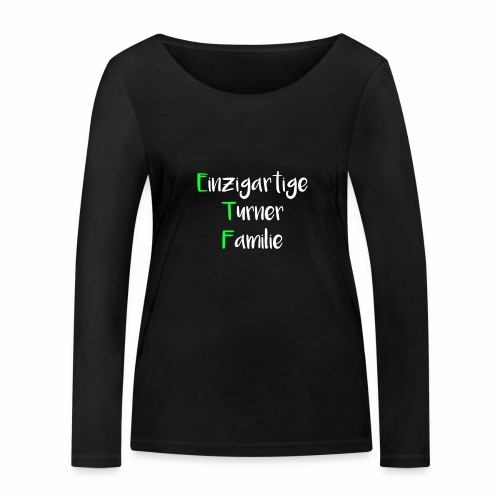 ETF - Frauen Bio-Langarmshirt von Stanley & Stella