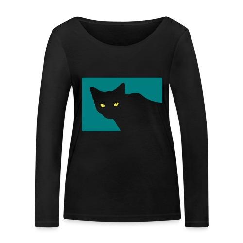 Spy Cat - Women's Organic Longsleeve Shirt by Stanley & Stella