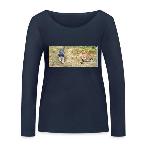 catssin's craat - Ekologiczna koszulka damska z długim rękawem Stanley & Stella