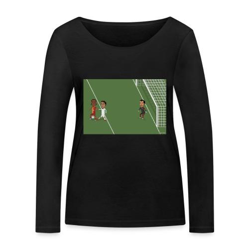 Backheel goal BG - Women's Organic Longsleeve Shirt by Stanley & Stella