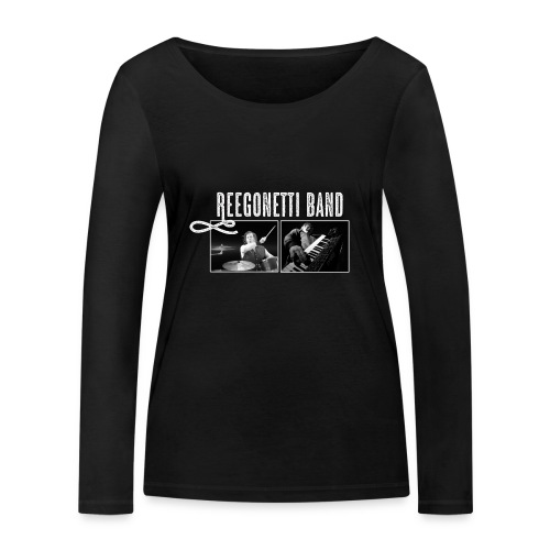 Reegonetti Band Live - Ekologisk långärmad T-shirt dam från Stanley & Stella