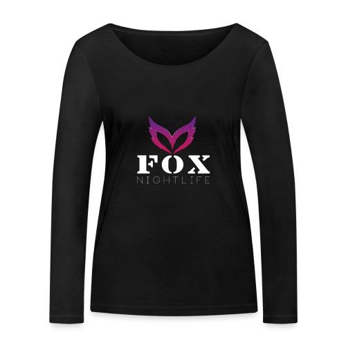 Vrienden van Fox Nightlife - Vrouwen bio shirt met lange mouwen van Stanley & Stella
