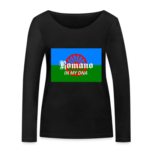 flaglennyinmydna - Ekologisk långärmad T-shirt dam från Stanley & Stella