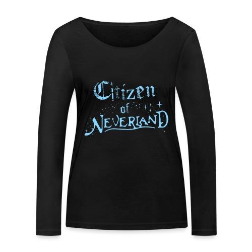 Citizen_blue 02 - Women's Organic Longsleeve Shirt by Stanley & Stella