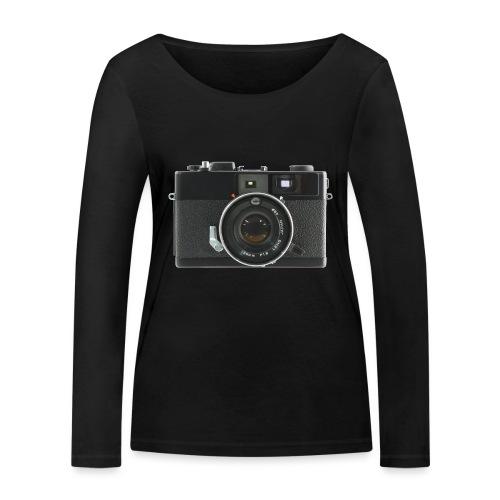 Vintage Camera Auto S3 - Maglietta a manica lunga ecologica da donna di Stanley & Stella