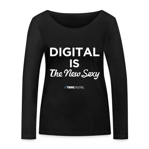 Digital is the New Sexy - Maglietta a manica lunga ecologica da donna di Stanley & Stella