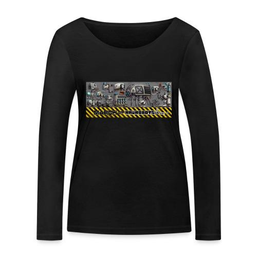 #MarchOfRobots ! LineUp Nr 1 - Økologisk Stanley & Stella langærmet T-shirt til damer