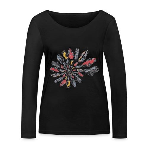 Car Swirl - Women's Organic Longsleeve Shirt by Stanley & Stella
