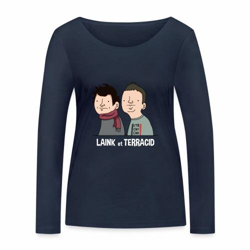 Laink et Terracid - T-shirt manches longues bio Stanley & Stella Femme