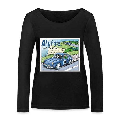 Polete en Alpine 106 - T-shirt manches longues bio Stanley & Stella Femme