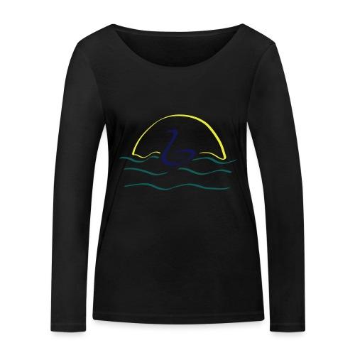 Swan - Vrouwen bio shirt met lange mouwen van Stanley & Stella