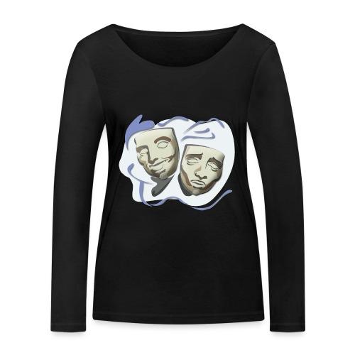 Theater/Theater - Frauen Bio-Langarmshirt von Stanley & Stella