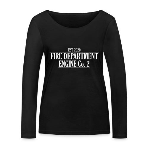ENGINE Co 2 - Økologisk Stanley & Stella langærmet T-shirt til damer