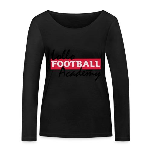 Lollo Acadmey - Ekologisk långärmad T-shirt dam från Stanley & Stella