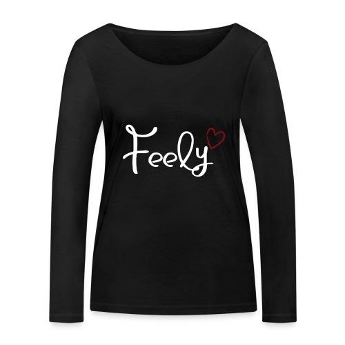 Feely love - Frauen Bio-Langarmshirt von Stanley & Stella