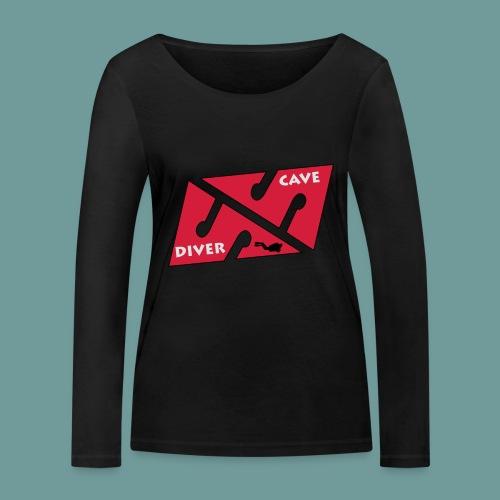 cave_diver_01 - T-shirt manches longues bio Stanley & Stella Femme