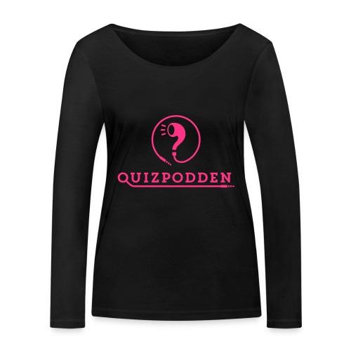 Quizpodden Rosa mugg - Ekologisk långärmad T-shirt dam från Stanley & Stella