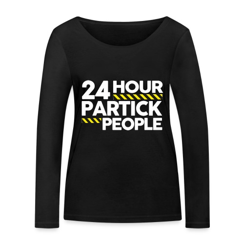 24 Hour Partick People - Women's Organic Longsleeve Shirt by Stanley & Stella