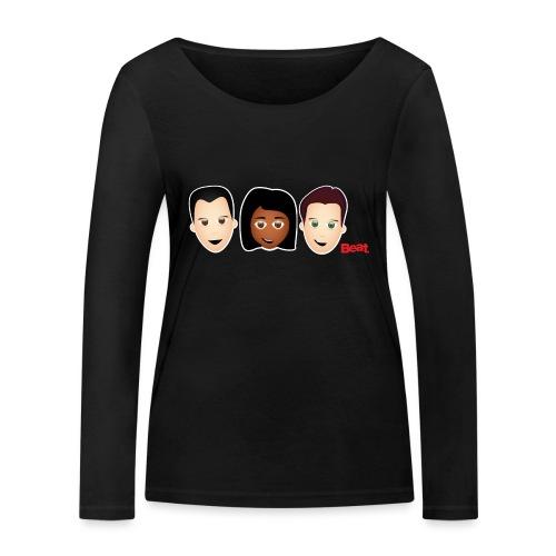 Beat Breakfast Mug - Women's Organic Longsleeve Shirt by Stanley & Stella