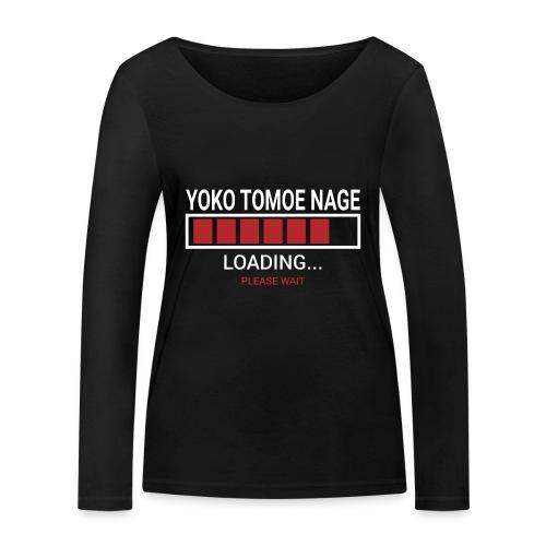 Yoko Tomoe Nage loading... pleas wait - Ekologiczna koszulka damska z długim rękawem Stanley & Stella