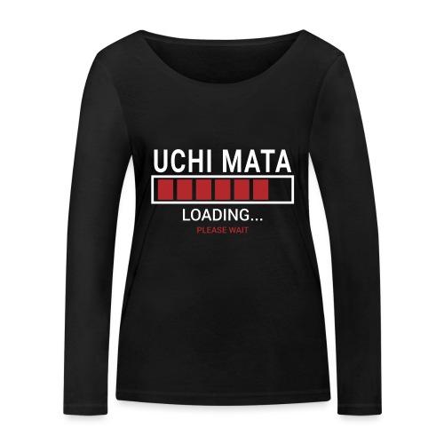 Uchi Mata Loading... pleas Wait - Ekologiczna koszulka damska z długim rękawem Stanley & Stella