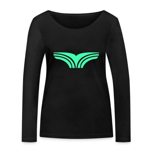 Boyga Regular V-hals - Økologisk langermet T-skjorte for kvinner fra Stanley & Stella
