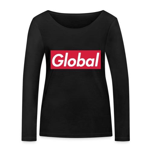 Global - Frauen Bio-Langarmshirt von Stanley & Stella