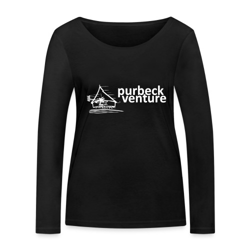Purbeck Venture Active white - Women's Organic Longsleeve Shirt by Stanley & Stella