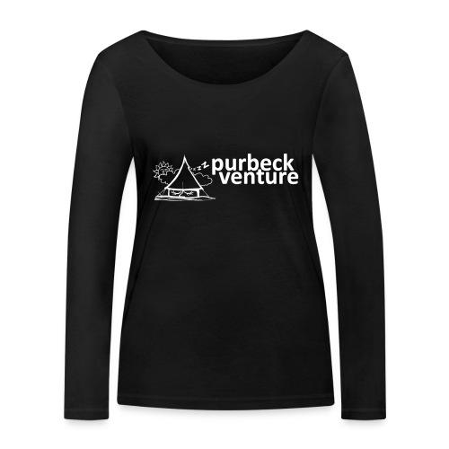 Purbeck Venture Sleepy white - Women's Organic Longsleeve Shirt by Stanley & Stella