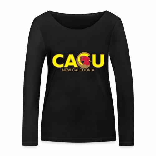 Cagu New Caldeonia - T-shirt manches longues bio Stanley & Stella Femme