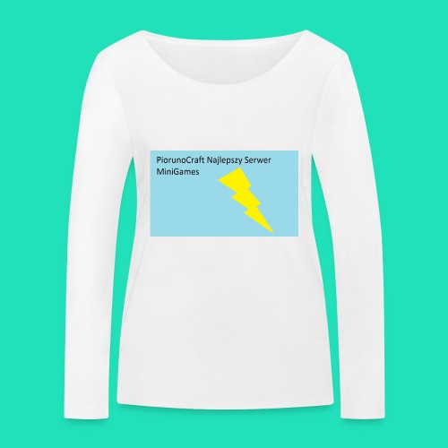 Piorunowe Na Telefon 5s - Ekologiczna koszulka damska z długim rękawem Stanley & Stella