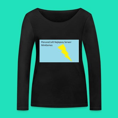 Koszulka Dla Dzieci PiorunoCraft - Ekologiczna koszulka damska z długim rękawem Stanley & Stella