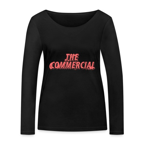 The Commercial Design #1 (Salmon - Women's Organic Longsleeve Shirt by Stanley & Stella