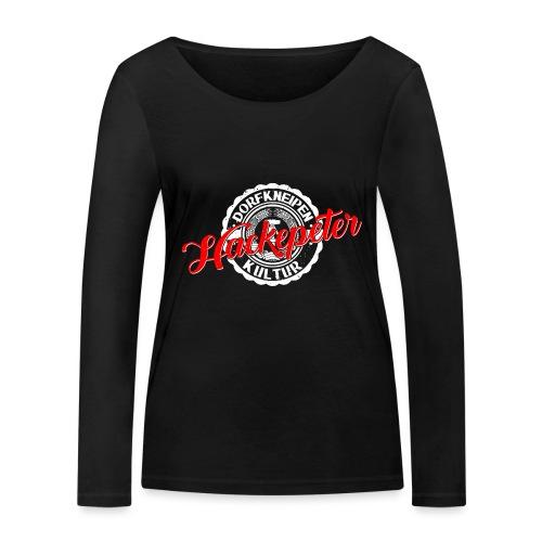 Hackepeter - Frauen Bio-Langarmshirt von Stanley & Stella