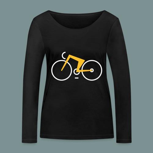 Bikes against cancer - Økologisk Stanley & Stella langærmet T-shirt til damer
