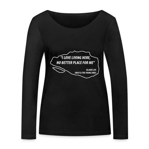 Island Life - Vrouwen bio shirt met lange mouwen van Stanley & Stella