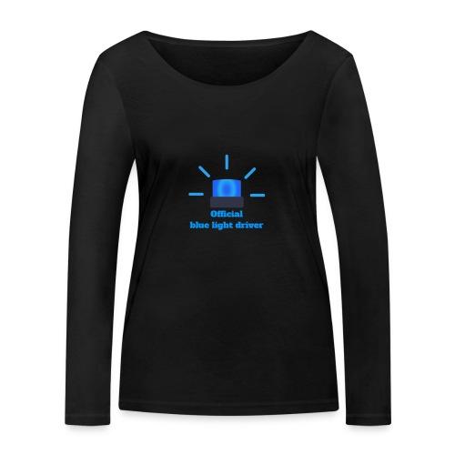 Blue light driver - Frauen Bio-Langarmshirt von Stanley & Stella