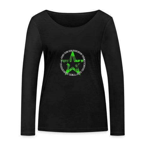 ra star slogan slime png - Frauen Bio-Langarmshirt von Stanley & Stella