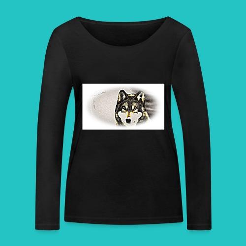 Bluza Wilk - Ekologiczna koszulka damska z długim rękawem Stanley & Stella